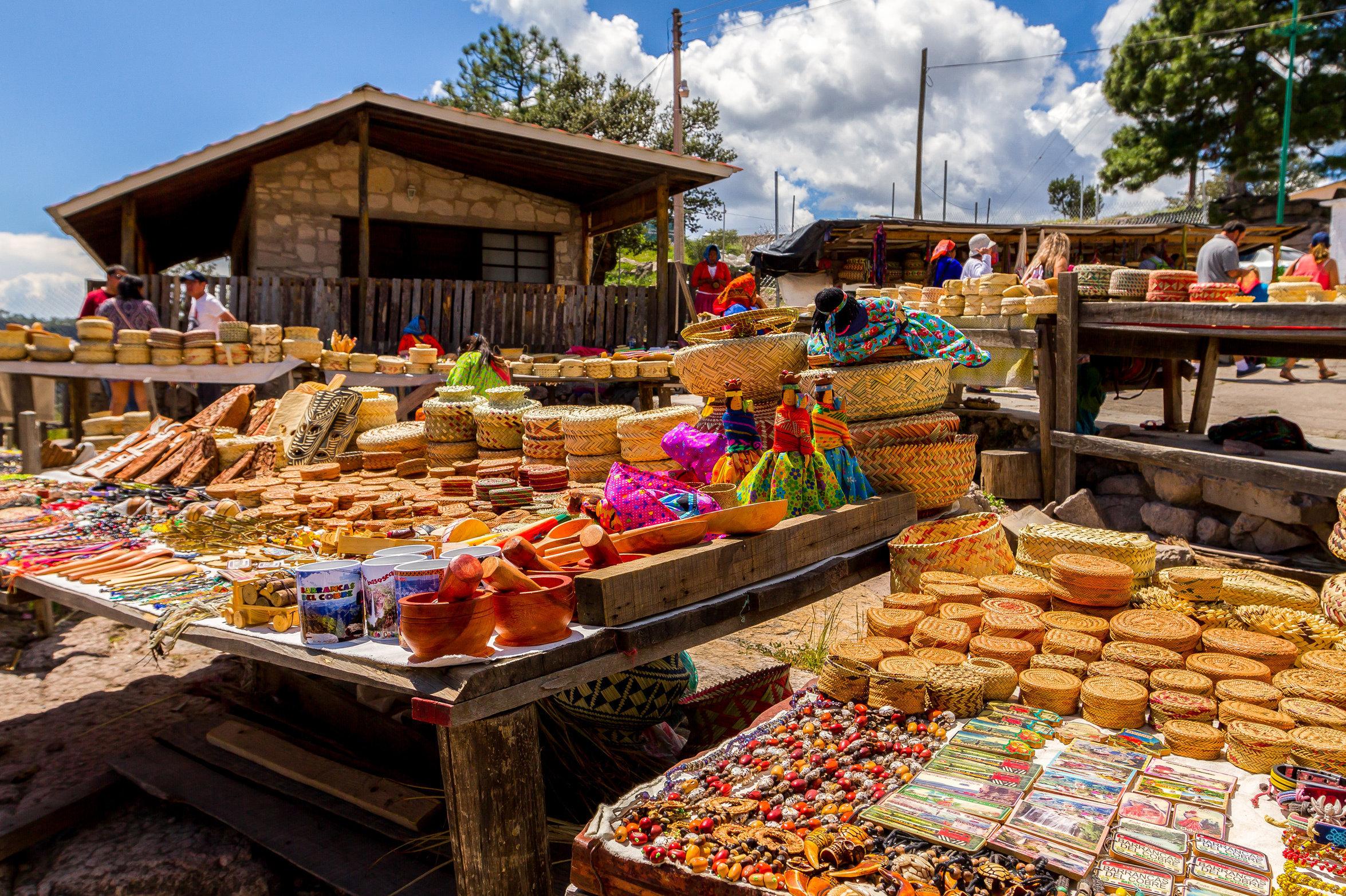 Artesanía de los tarahumaras