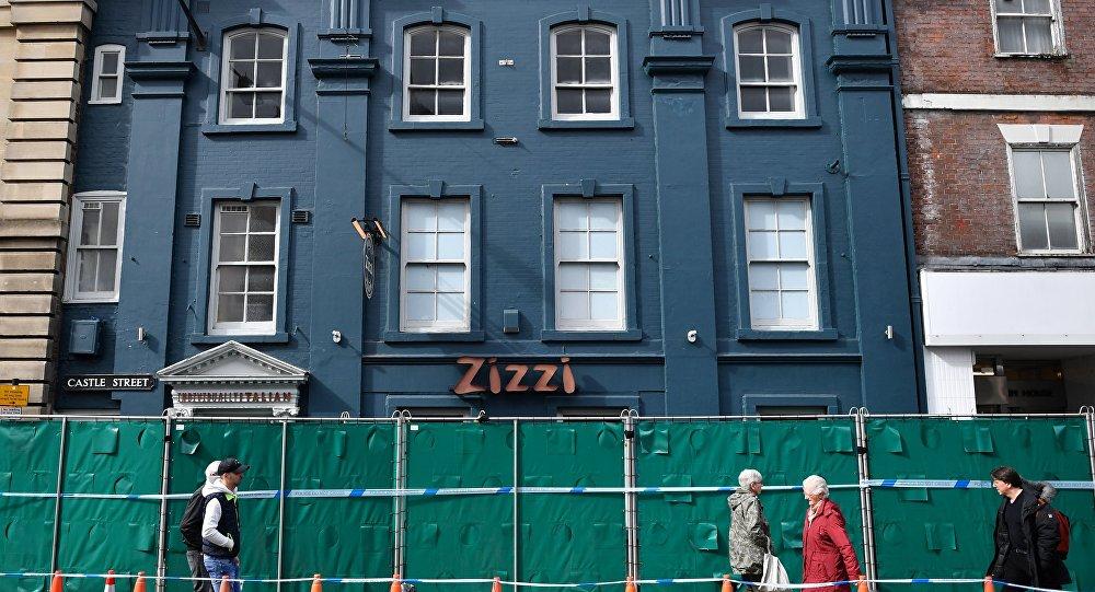 El restaurante Zizzi en la ciudad de Salisbury