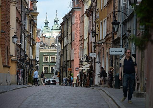 Varsovia, la capital de Polonia