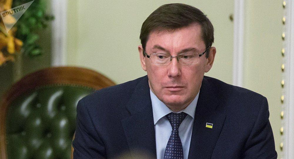 Yuri Lutsenko, el fiscal general de Ucrania