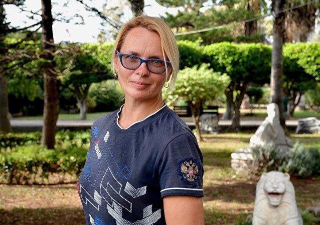 Irina Sidorenko, viajera rusa