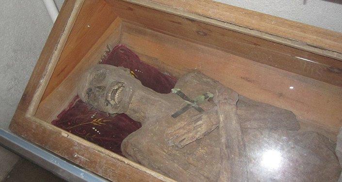 La momia de Franz Xaver Sydler von Rosenegg