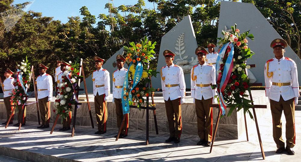 Conmemoran en Cuba aniversario 101 de la Revolución rusa de octubre de 1917