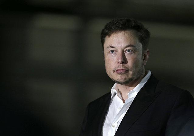 Elon Musk, fundador de la compañía SpaceX (archivo)