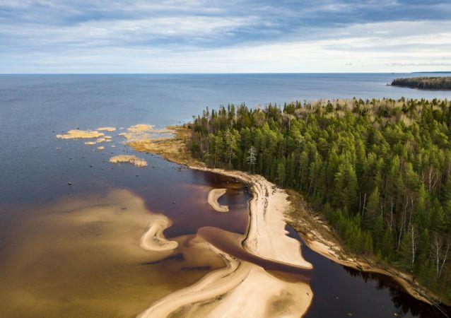 La hipnótica belleza del lago ruso Onega