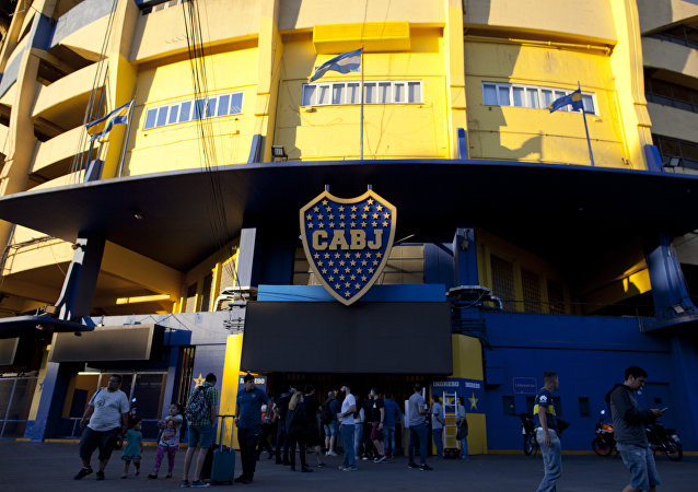 La Bombonera, el estadio del Club Atlético Boca Juniors