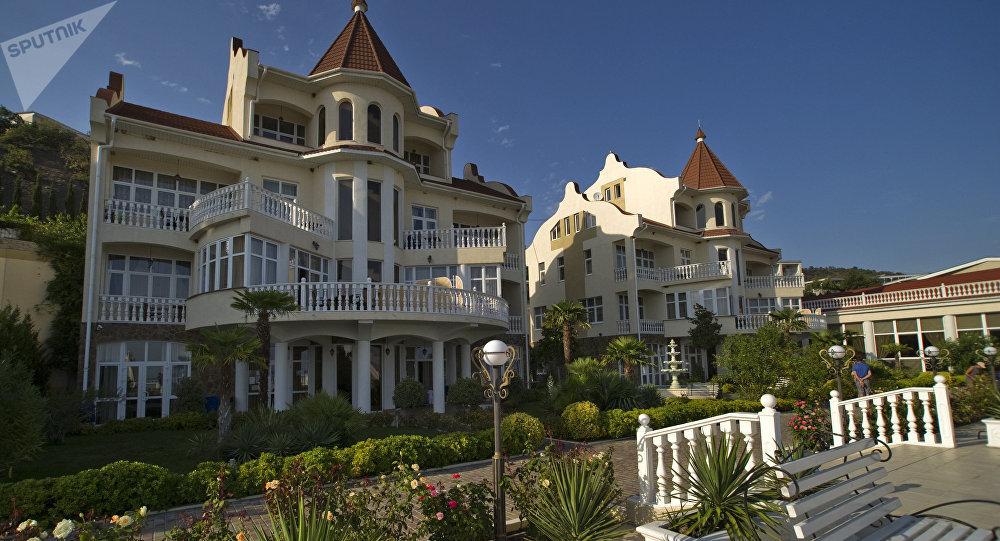 Un hotel en Crimea