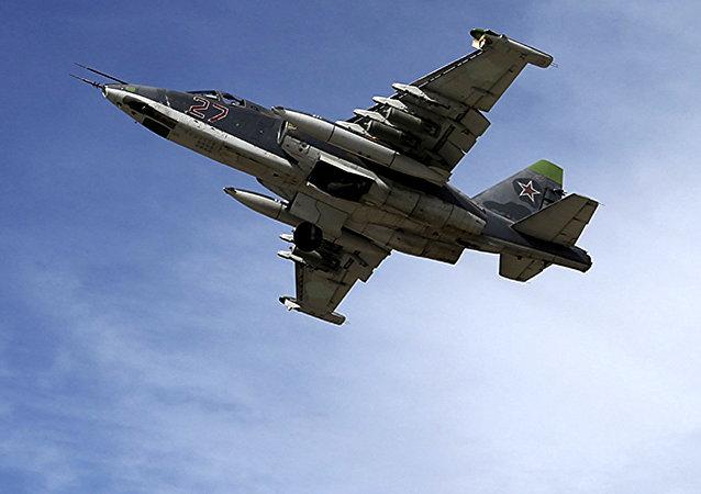 Su-25, foto de archivo
