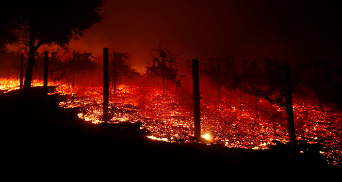 Incendio en California