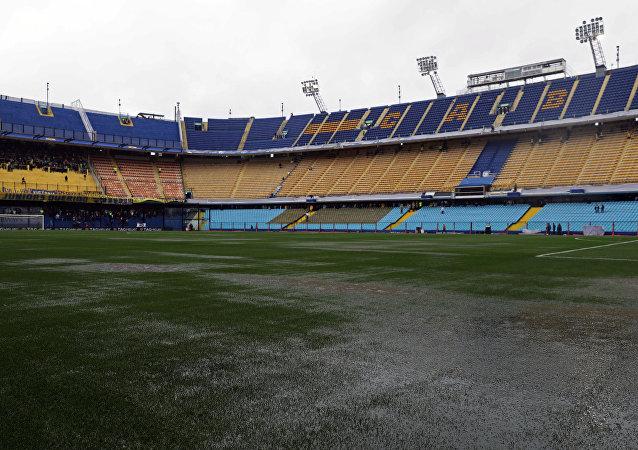 La Bombonera, estadio del Club Atlético Boca Juniors el 10 de noviembre