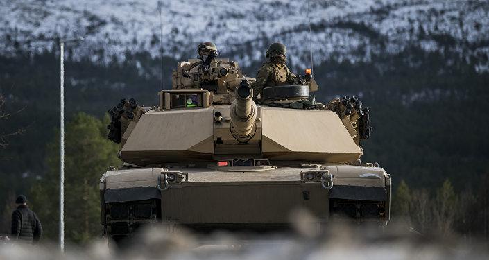 Marines estadounidenses en las maniobras de OTAN Trident Juncture 2018 en Noruega