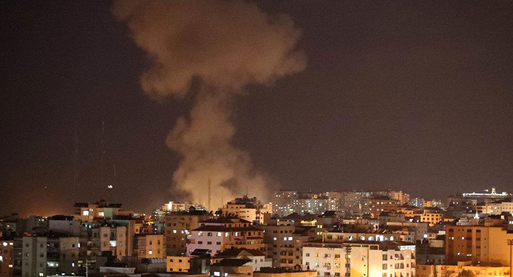La situación en Franja de Gaza