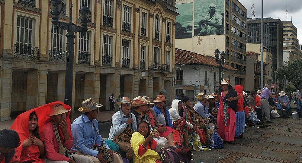 Indígenas en Colombia marcharán junto a estudiantes