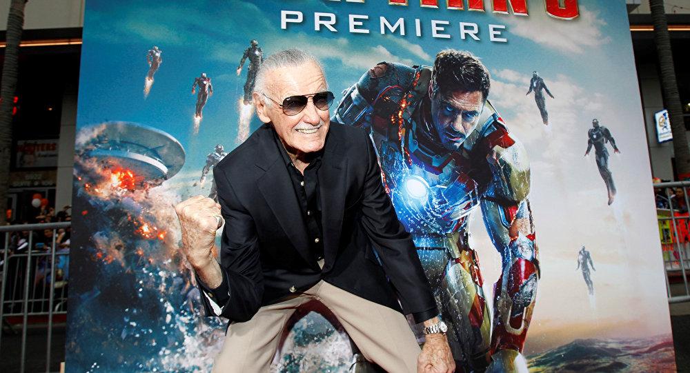Stan Lee, uno de los creadores de los cómics de Marvel