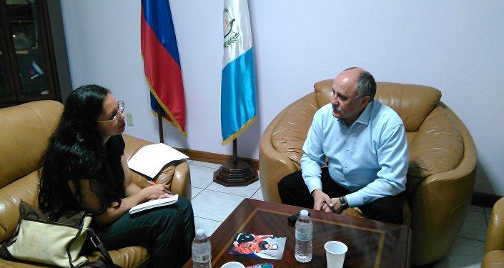 Yuri Usachov. Entrevista a Prensa Libre