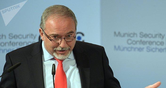 Avigdor Lieberman, político del partido Yisrael Beitenu, que dimitió como ministro de Defensa de Israel