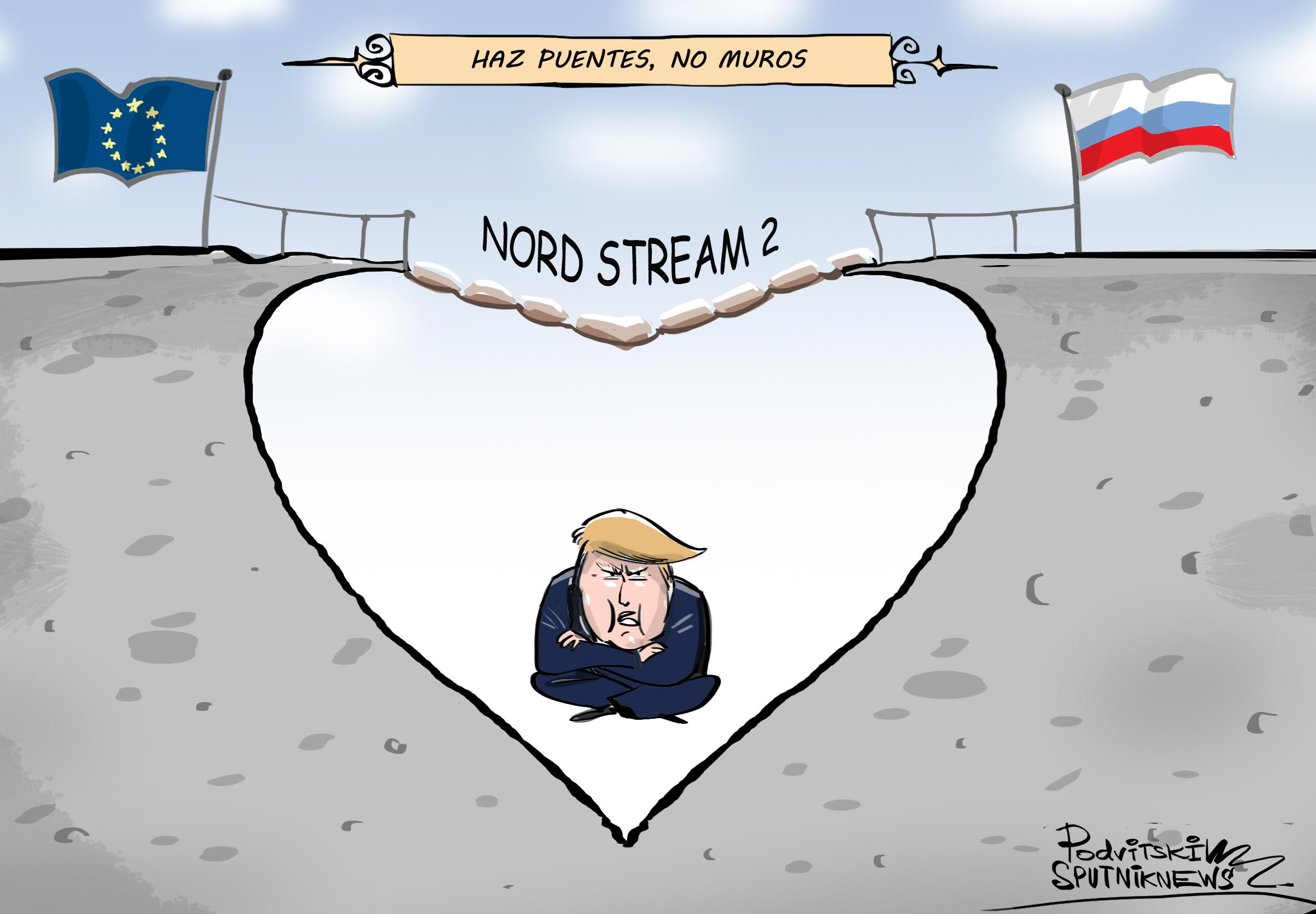 Nord Stream 2: Haz puentes, no muros