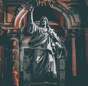 Escultura de Jesucristo