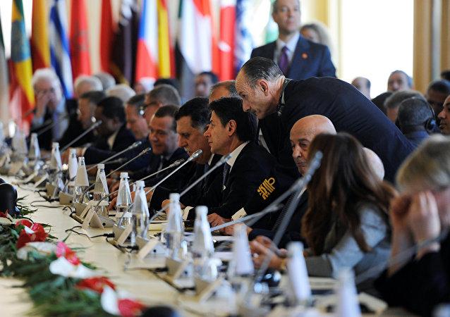 Conferencia internacional sobre Libia en Palermo, Italia