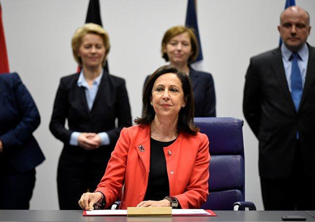 Margarita Robles, ministra de Defensa de España