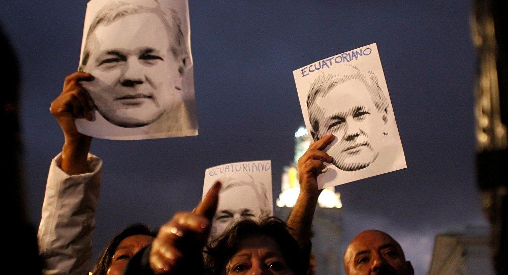 Los retratos de Julian Assange, fundador de WikiLeaks