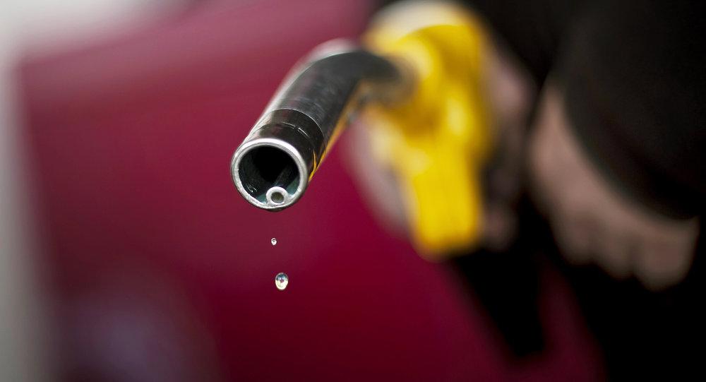 Un surtidor de gasolina (imagen referencial)