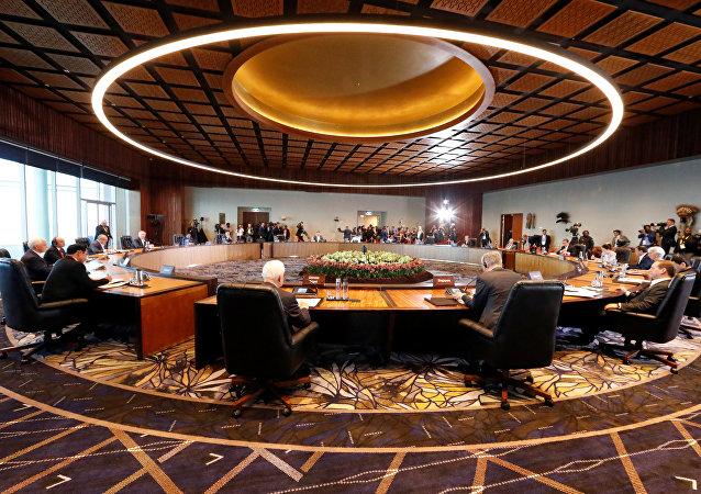 La cumbre de la APEC