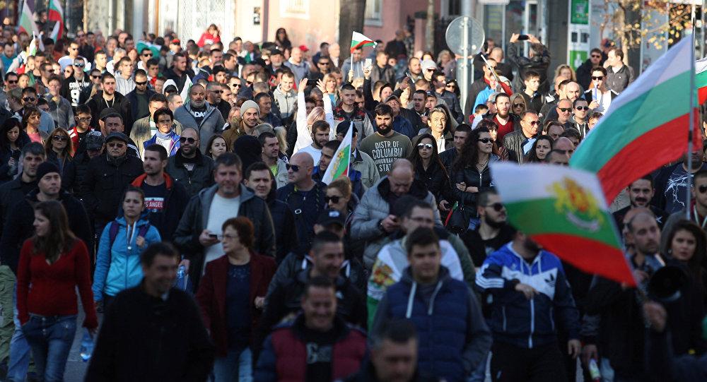 Protestas en Bulgaria