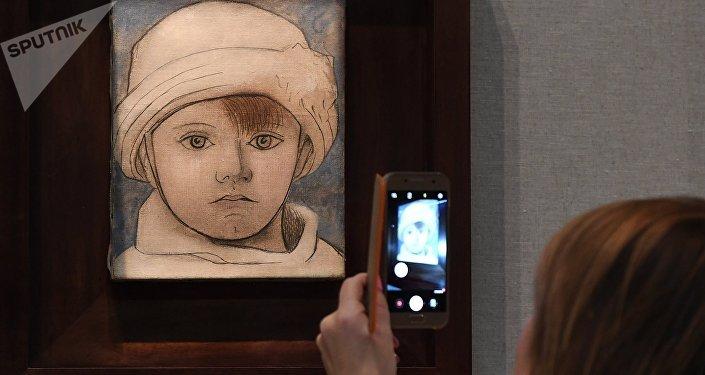 Inauguración de la exposición Picasso&Jojlova en Moscú, Rusia
