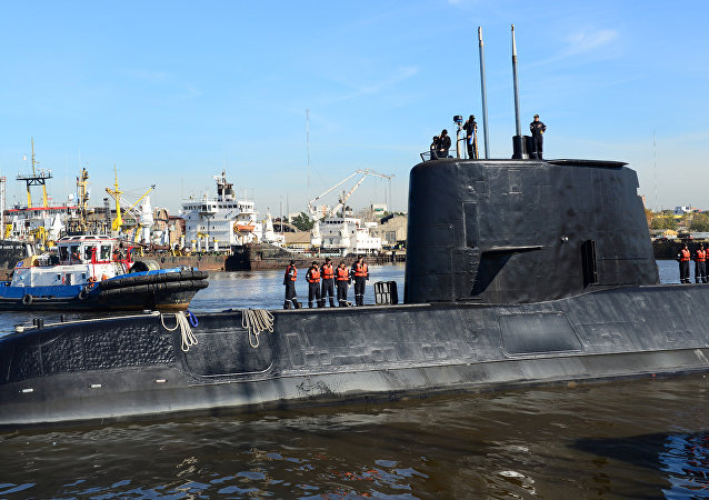 El submarino ARA San Juan (archivo)