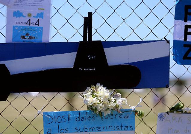 Un homenaje a los submarinistas del ARA San Juan