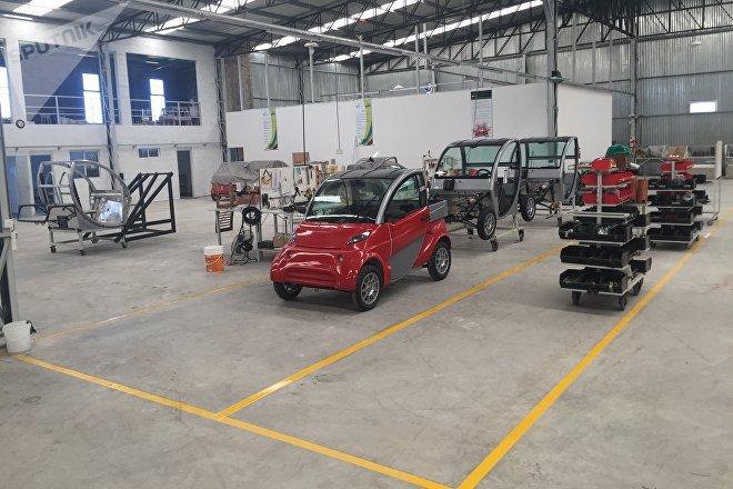 Fábrica de los autos eléctricos Sero Electric