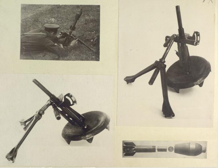 Un mortero ruso de 1943 del calibre 82