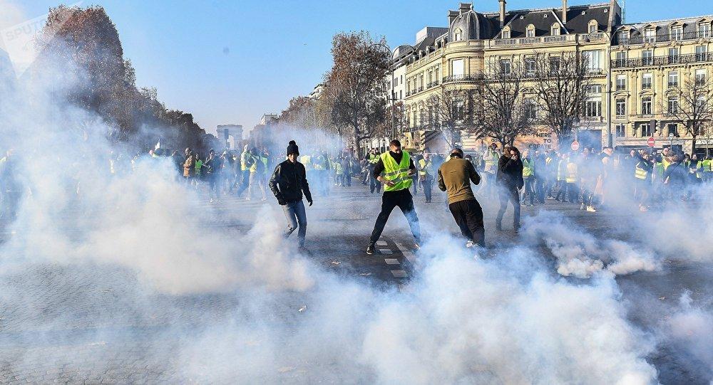 Las protestas en Francia por la subida del combustible