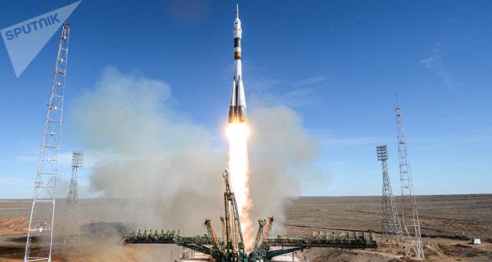 El lanzamiento del Soyuz-FG