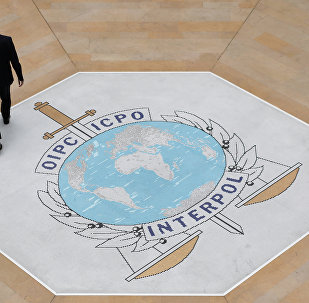 El logo de Interpol