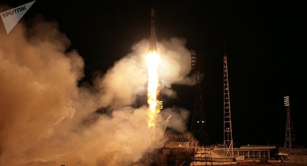 Lanzamiento del cohete Soyuz-FG (archivo)