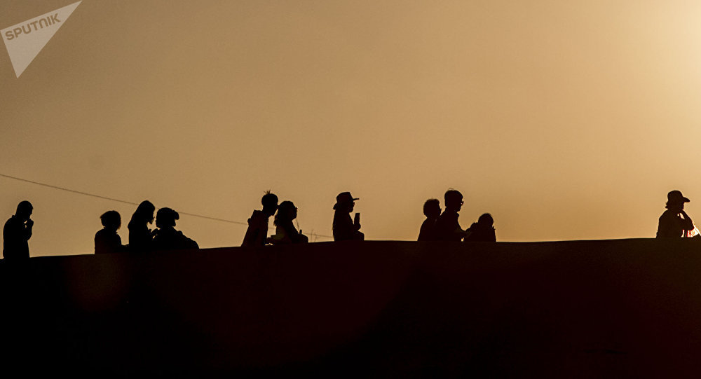 El cruce desmilitarizado de la Garita de San Ysidro facilito el acceso de las personas que entraban a los EEUU