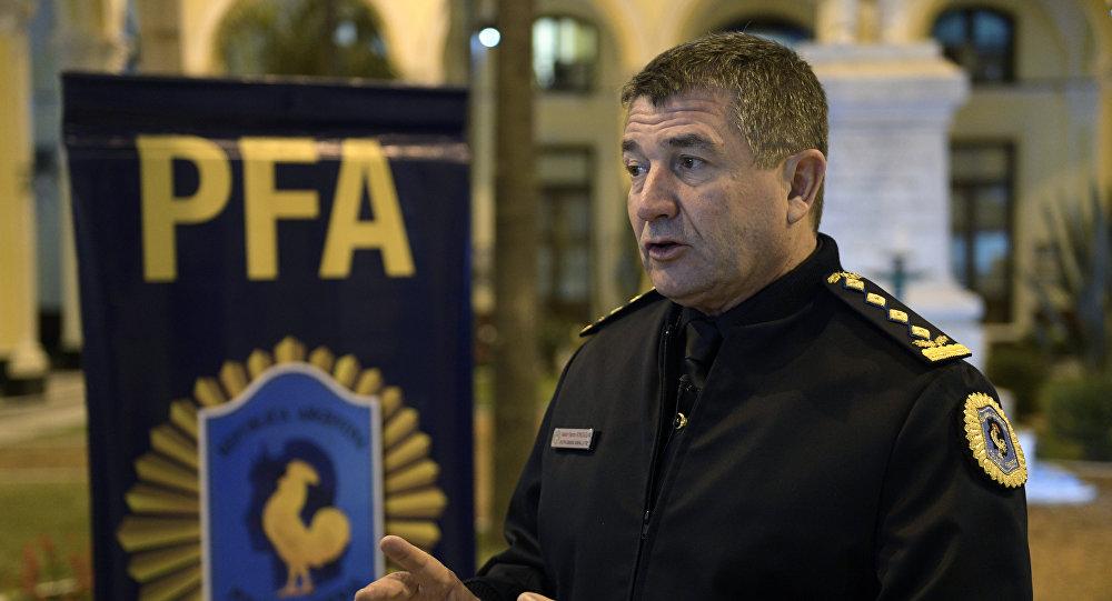 Néstor Roncaglia, vicepresidente de Interpol para las Américas