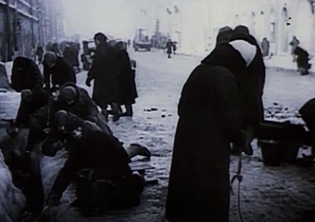 El Camino de la vida, la única esperanza para el Leningrado asediado
