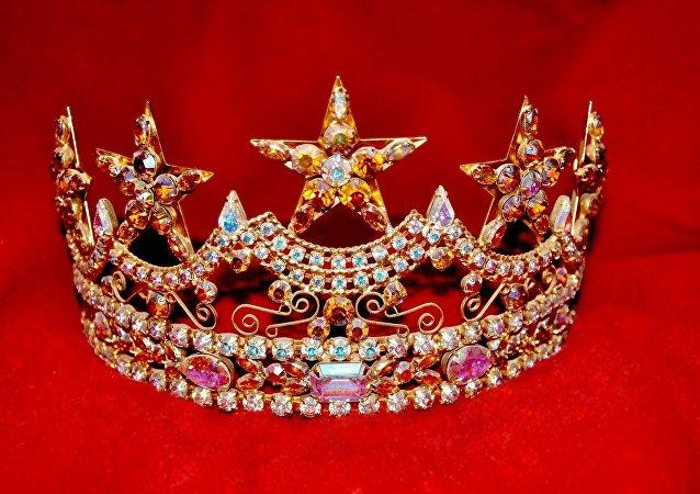 Una corona