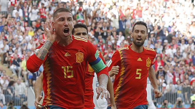 Sergio Ramos encabezó la selección española durante el Mundial de Rusia 2018
