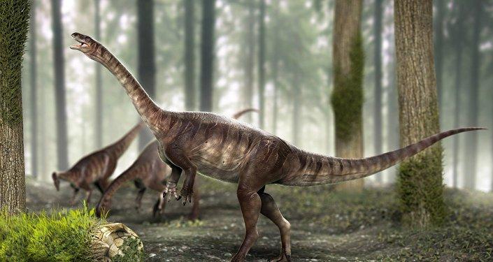 El dinosaurio de cuello largo más antiguo del mundo
