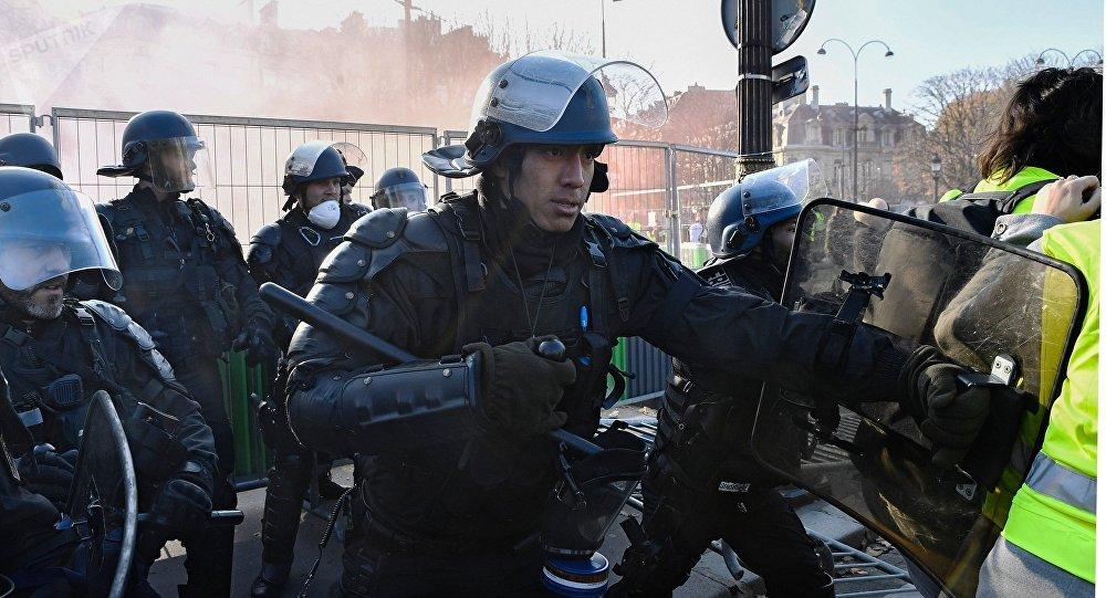 Protestas contra los precios del combustible en Francia