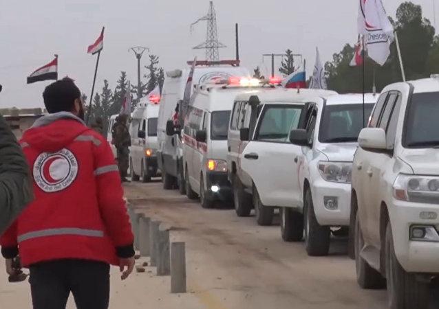 Intercambio de rehenes entre los militares sirios y los rebeldes