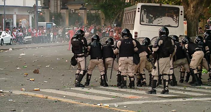 Caos y disturbios en Buenos Aires en vísperas de la final de la Copa Libertadores