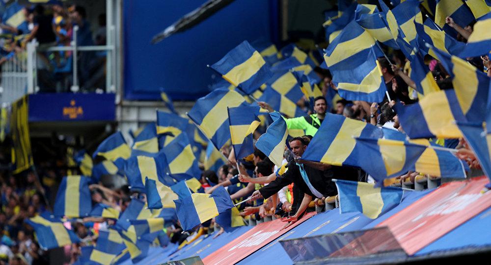 Los hinchas de Boca Juniors