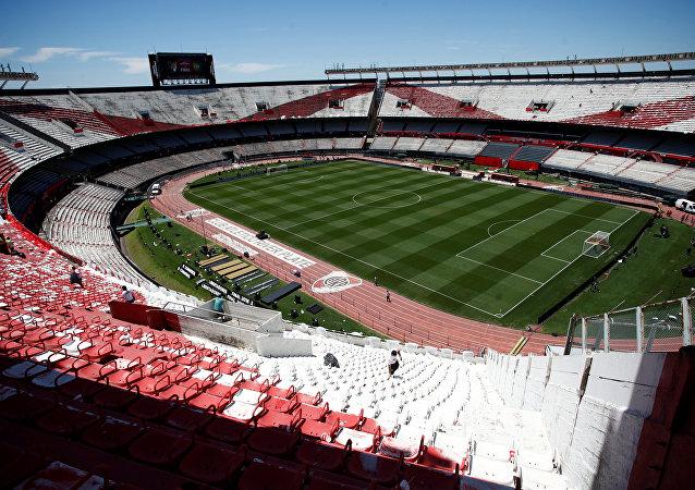Estadio Antonio Vespucio Liberti, también conocido como Estadio Monumental o Monumental de Núñez, estadio propiedad del Club Atlético River Plate