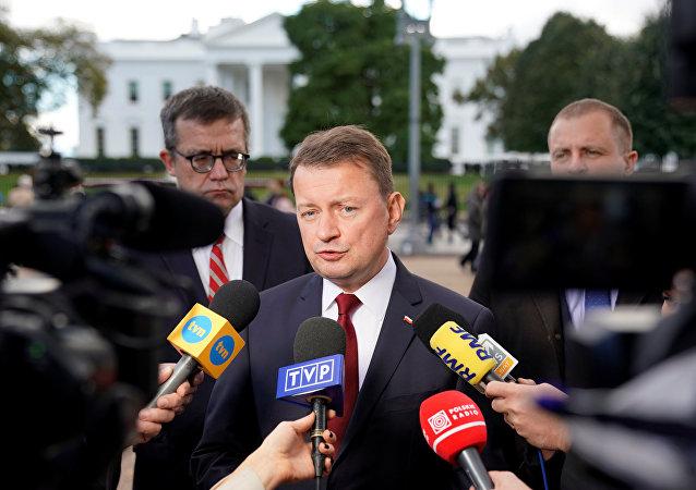 Mariusz Blaszczak, ministro de Defensa de Polonia