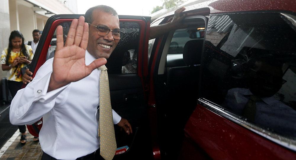 Mohamed Nasheed, expresidente de las Maldivas
